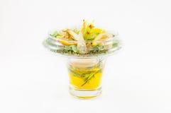 Salade avec le citron Image libre de droits