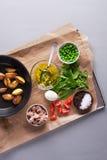 Salade avec le thon Photographie stock libre de droits