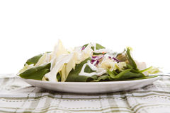 Salade avec rectifier photo libre de droits