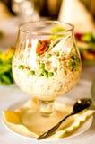 Salade blanche en glace Photo stock