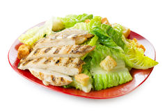 Salade Caesar stock afbeelding
