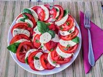 salade caprese Image libre de droits