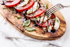 salade caprese Photos stock