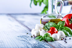 salade caprese Photo stock