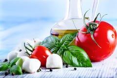 salade caprese Images libres de droits