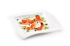 salade caprese Image stock