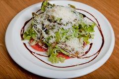 Salade chaude avec le veau Image stock