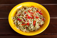 Salade chinoise Images libres de droits