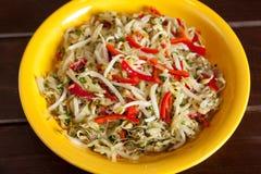 Salade chinoise Photos libres de droits