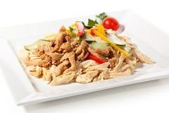 Salade chinoise de peau de tofu Images stock