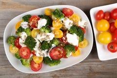 Salade colorée Photos libres de droits