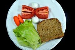 Salade colorée image stock