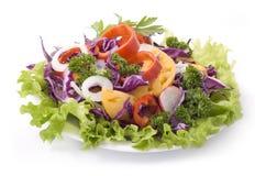 Salade colorée images libres de droits