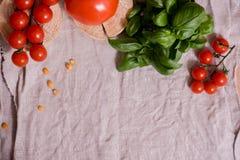 Salade colorée d'été Photo stock