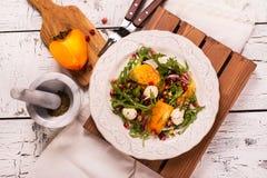Salade colorée fraîche d'été Image stock