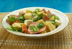 Salade Comtoise στοκ φωτογραφία