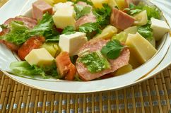 Salade Comtoise στοκ φωτογραφία με δικαίωμα ελεύθερης χρήσης