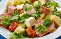 Salade Comtoise στοκ εικόνες