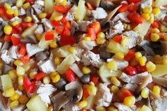 Salade coupée Photos stock
