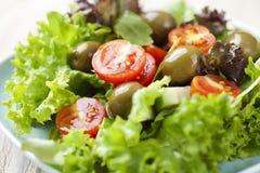 Salade crue fraîche Photographie stock libre de droits