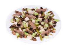 Salade délicieuse Photographie stock