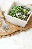 Salade d'épinards Photos libres de droits