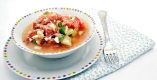Salade d'été Photos stock