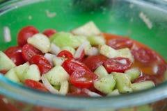 Salade d'été Photographie stock
