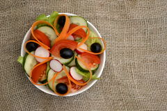 Salade d'été Photo stock