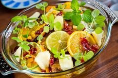 Salade d'agrumes Images stock