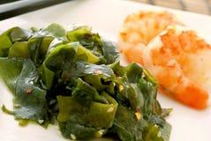 Salade d'algue photographie stock