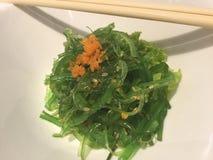 Salade d'algue de Wakame image libre de droits