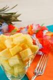 Salade d'ananas Image libre de droits