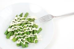 Salade d'asperge Photographie stock libre de droits