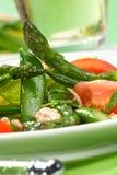 Salade d'asperge image stock
