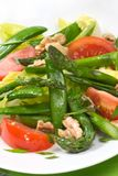 Salade d'asperge photo stock