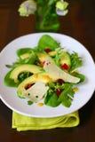 Salade d'avocat photos stock