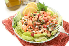 Salade d'haricot photo stock