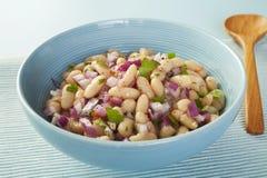 Salade d'haricot Photo libre de droits