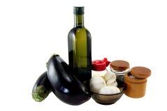 Salade d'ingrédients. Paraboloïde coréen. Photo libre de droits