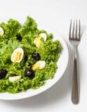 Salade d'oeuf de caille Photo libre de droits