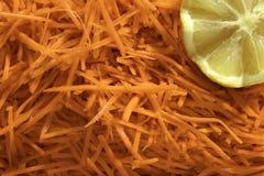 Salade das cenouras do Julienne Imagem de Stock
