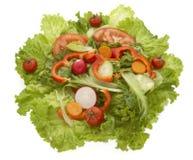 salade de 3 plans rapprochés photos libres de droits