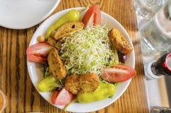 Salade de Beansprout Photographie stock