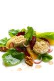 Salade de betterave et de fromage de chèvres image stock
