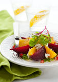 Salade de betteraves Photos libres de droits