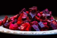 Salade de betteraves Photo libre de droits