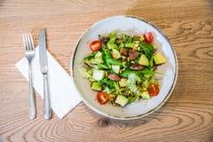 Salade de betteraves avec du fromage Photographie stock