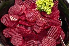 Salade de betteraves photographie stock libre de droits