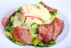Salade de boeuf Photo stock